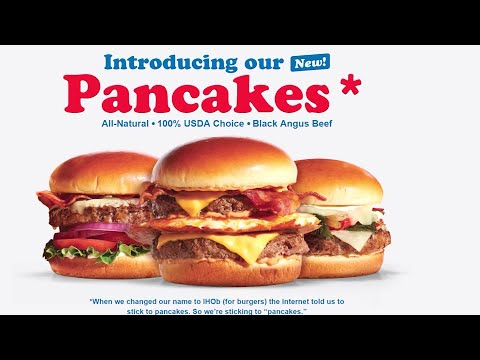 Buster - Ihop Introduces New Pancake Burger