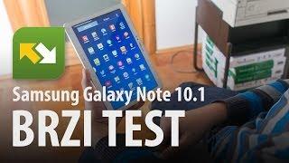 Samsung Galaxy Note 10.1 (2014 Edition) : brzi test