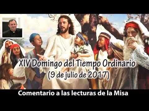 A LA GENTE SENCILLA - XIV Domingo del Tiempo Ordinario ciclo A (9 de julio de 2017)
