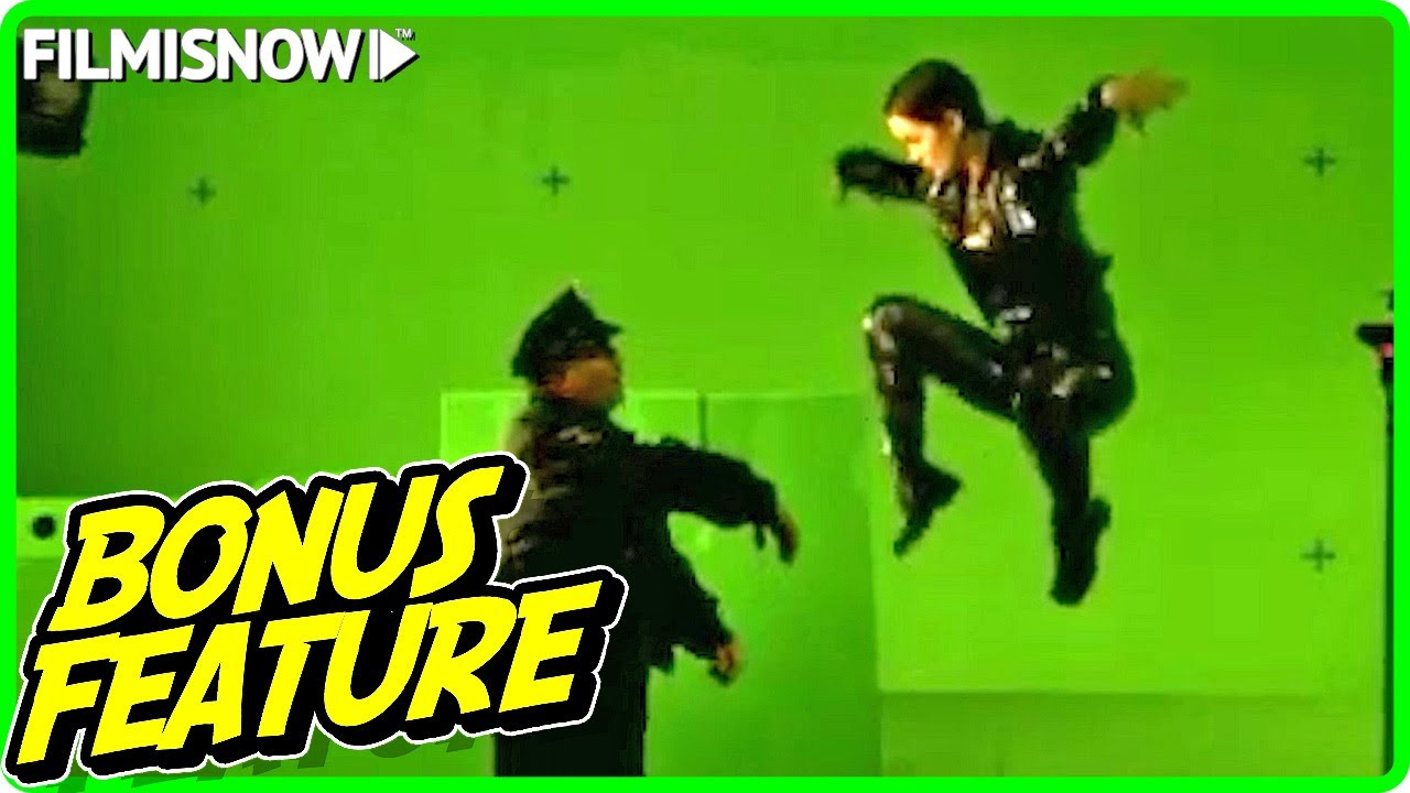 THE MATRIX (1999) | Making of Bullet Time Scenes
