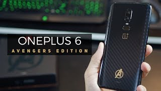 OnePlus 6 Avengers Limited Edition - Unboxing and Review