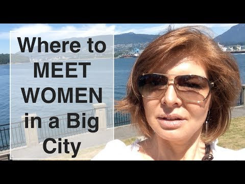 Where To Meet Women In A Big City