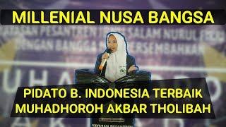 Pidato Bahasa Indonesia Terbaik - Nayla Shafa Jamilah
