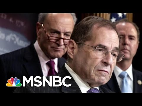 President Donald Trump Refers To Rep. Jerry Nadler As 'Sleazebag' At Davos | Morning Joe | MSNBC