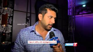 Jayam Ravi talks about his upcoming movies