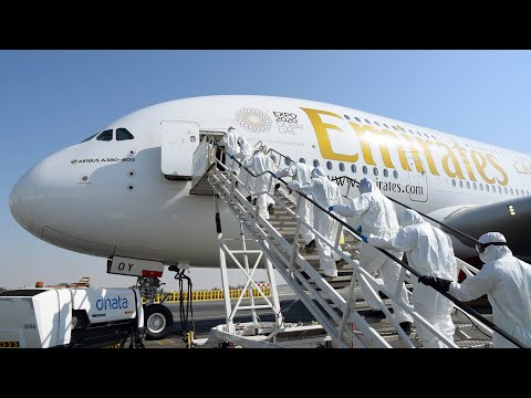 Our aircraft cabins are the cleanest in the skies | Aircraft Interior Cleaning | Emirates Airline