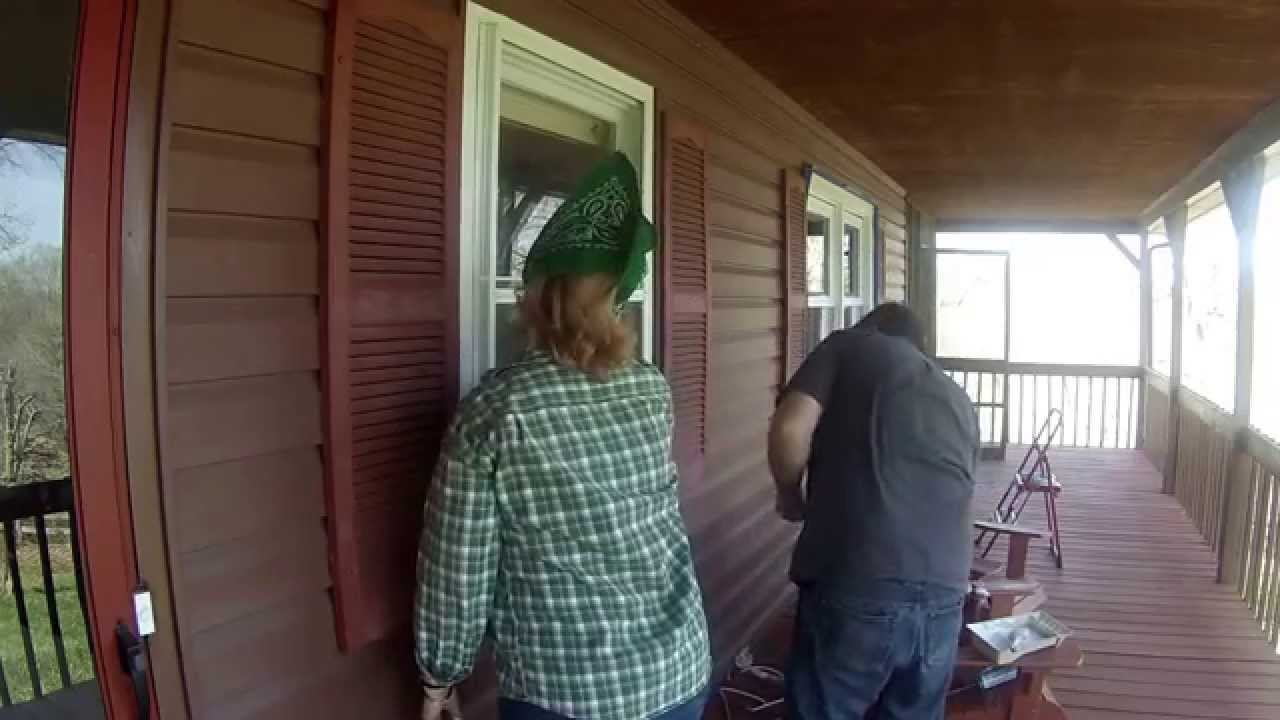 Installing Storm Windows On An Older Home Over Single Pane Window
