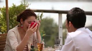 テラハ筧美和子、てっちゃん「恋人のような雰囲気」  「メルカリ」CMメーキング映像