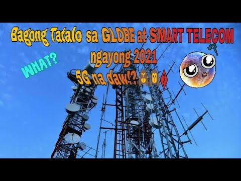 Bagong 5G Telecom na Tatalo sa GLOBE at SMART ngayong 2021