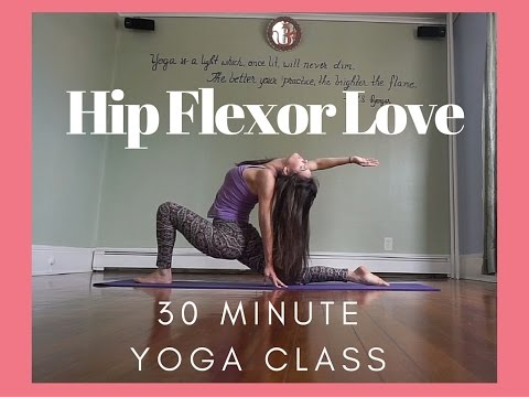 Hip Flexor Love - Standing Poses - Sometimes Sweet / Sometimes Challenging Vinyasa Yoga Flow