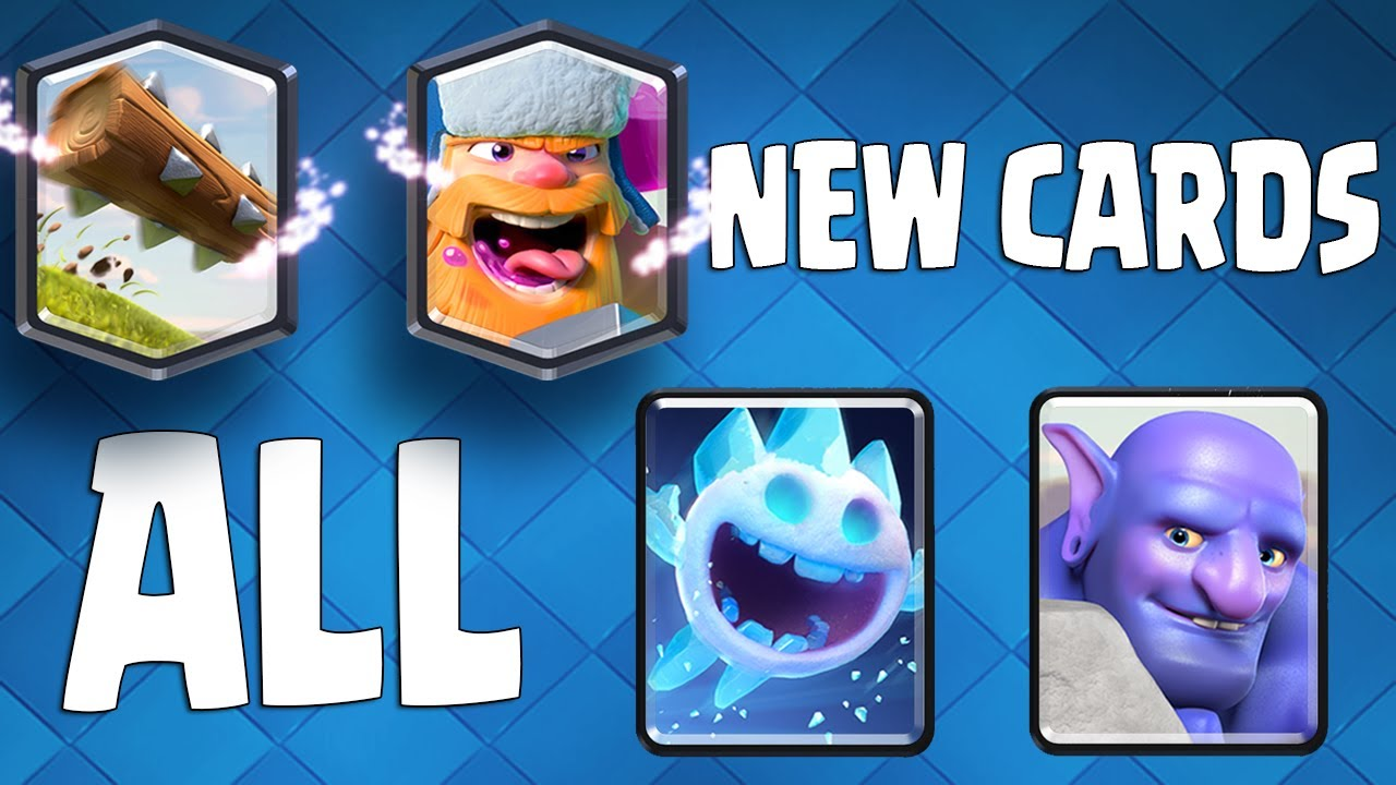 Clash royale new cards gameplay ice spirit bowler