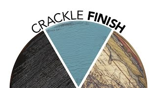 Crackle Paint Finish