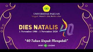 Download DIES NATALIS UNIVERSITAS PAKUAN 40 Tahun (4 Dekade)