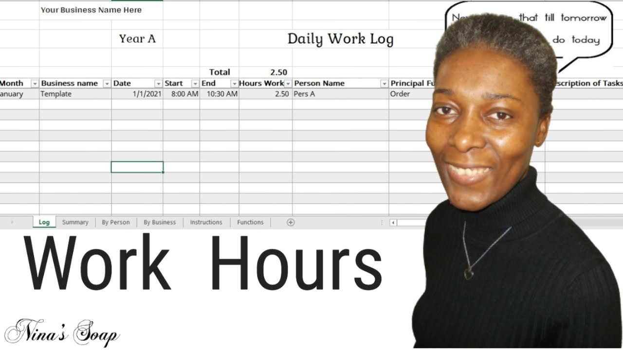 View and manage submissions on timeline and dashboard screens, generate pdf reports. Daily Work Activity Log Excel Template Youtube