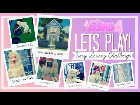 The Sims 4 - Lets Play! | Tiny Living Challenge (Part 13) - HAPPY BIRTHDAY ELENA!