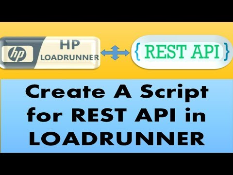 Loadrunner Tutorials | How to Create a Script for a REST API Services in Loadrunner