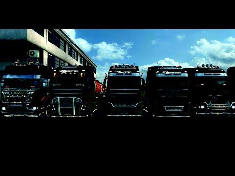 Euro Truck Simulator 2 Multiplayer Konvooi met ZZ-Trans en ETT en andere VTC'S