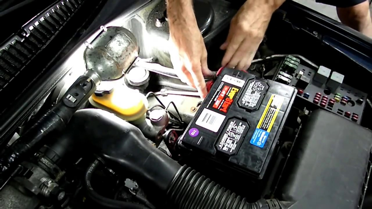 Automotive Battery Replacement - YouTube