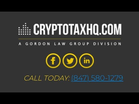 Sunday Night Live Discussing Cryptocurrency Taxes with Andrew Gordon from Gordon Law