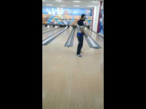 libya bowling. me and my friend..