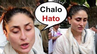 Kareena Kapoor Gets Angry On Media At Krishna Raj Kapoor Last Rites