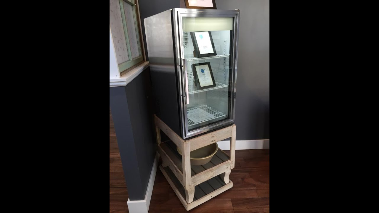 Rolling Fridge Stand Video 4 Youtube