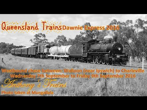 Queensland Trains: Dawnie Express 2016