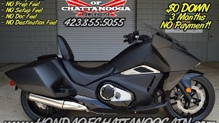 2016 Honda NM4 Video Review of Specs - Start Up - DCT Auto Motorcycle / Honda of Chattanooga