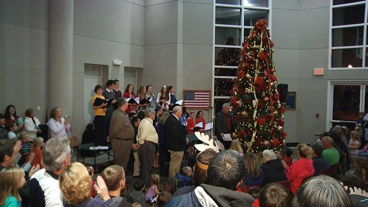 O\'FallonTV: Lighting the Christmas Tree   O\'Fallon, Missouri - YouTube