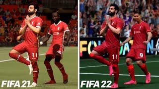 FIFA 21 VS FIFA 22 | Gameplay Comparison
