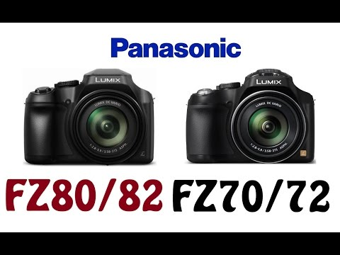 Panasonic DC-FZ80/FZ82 vs Panasonic DMC-FZ70/FZ72