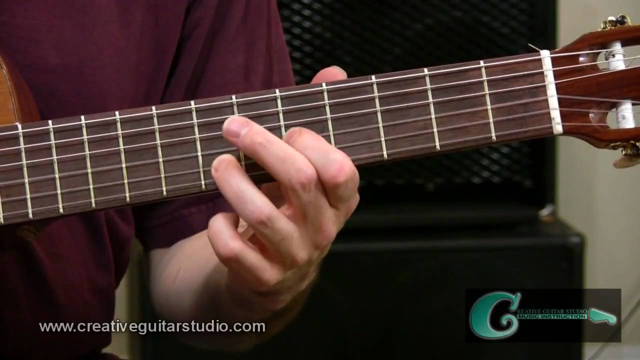 Fingerstyle Guitar Open String Chord Voicings Youtube