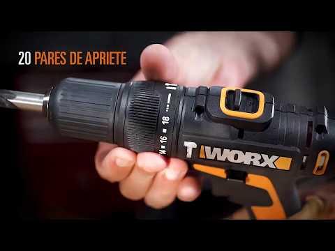 Taladro Percutor 20V Worx WX371 | HIDROAL