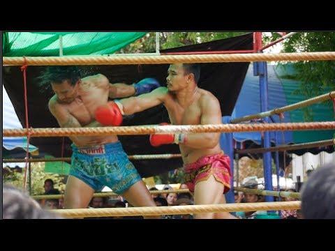 Thailand Muay Thai Vlog #11 - Songkran Festival Fights in Surin, Isan, Thailand
