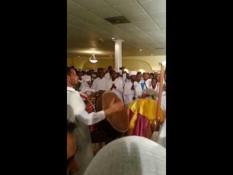 Mezmur at Dn. Zersenay and Rahwa's wedding!