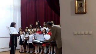 Cor Scoala de Muzica si Arte plastice nr 2 Bucuresti 2-2