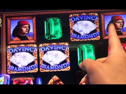 DaVinci Diamonds $6/MAX ✦Live Play✦ Slot Machine in Las Vegas