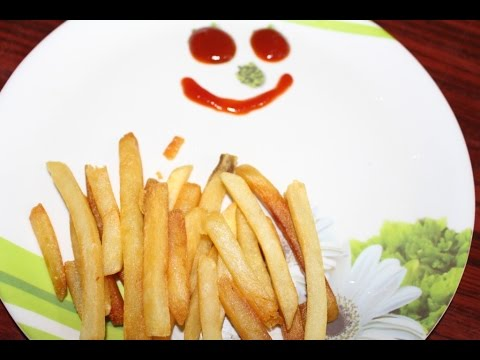 How to make french fries potato in few minutes prepare by how to make french fries potato in few minutes prepare by yourself at home solutioingenieria Images