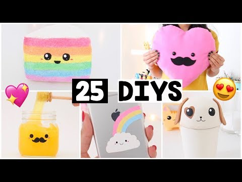 MAKING 25 AMAZING DIY Slimes, Squishies, Room Decor & Organization COMPILATION!