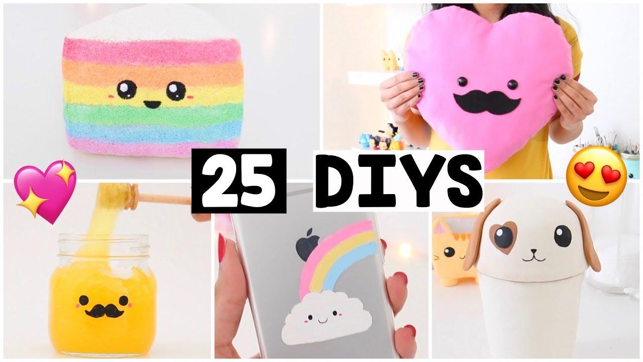 Making 25 Amazing Diy Slimes Squishies Room Decor Organization Compilation Youtube