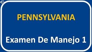 Examen De Manejo De Pennsylvania 1