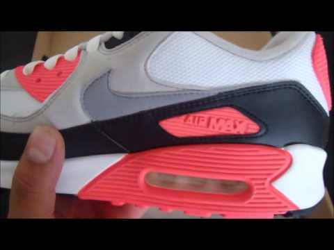 154378ca463 AIR MAX 90 INFRARED - YouTube