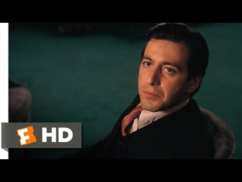 Don't Ever Take Sides Against the Family  The Godfather 79 Movie  1972 HD