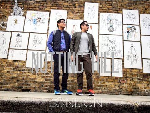 NOTTING HILL LONDON // VLOG#91 //  DIEVIN //