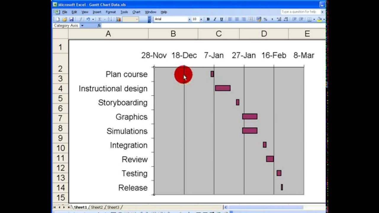 Excel 2003 gantt chart template images templates example free how toeate a basic gantt chart in excel 2003 youtube create a basic gantt chart in nvjuhfo Choice Image