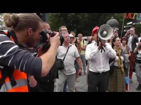 Homoseksualų eitynės ir Gražulis, 2013-07-27 Vilnius