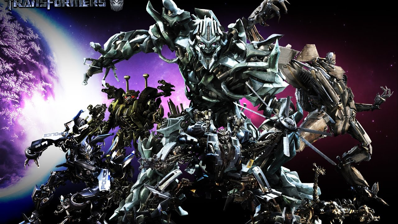 all decepticons 1 4 films transformers youtube