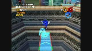Sonic Heroes (PC) - Grand Metropolis (Team Sonic)