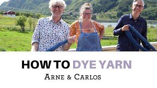 How to Dye Yarn with ARNE & CARLOS