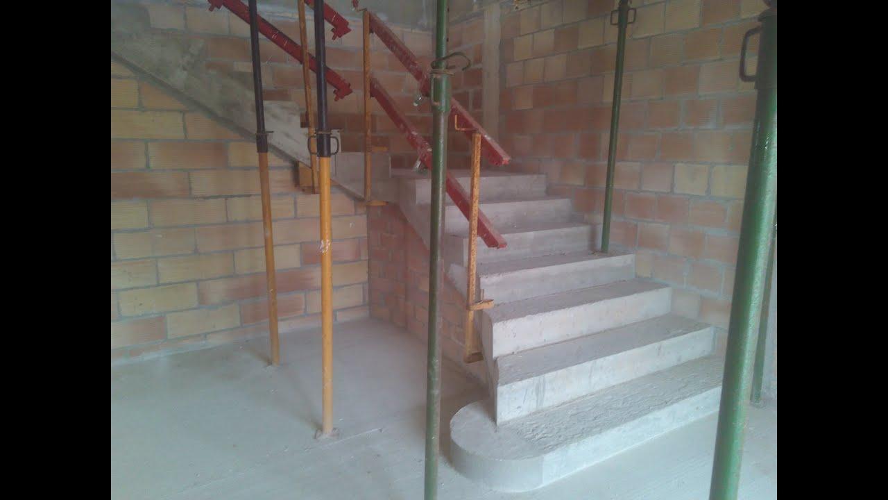 Hacer escalera de hormig n construir una casa paso a paso for Como hacer escalones